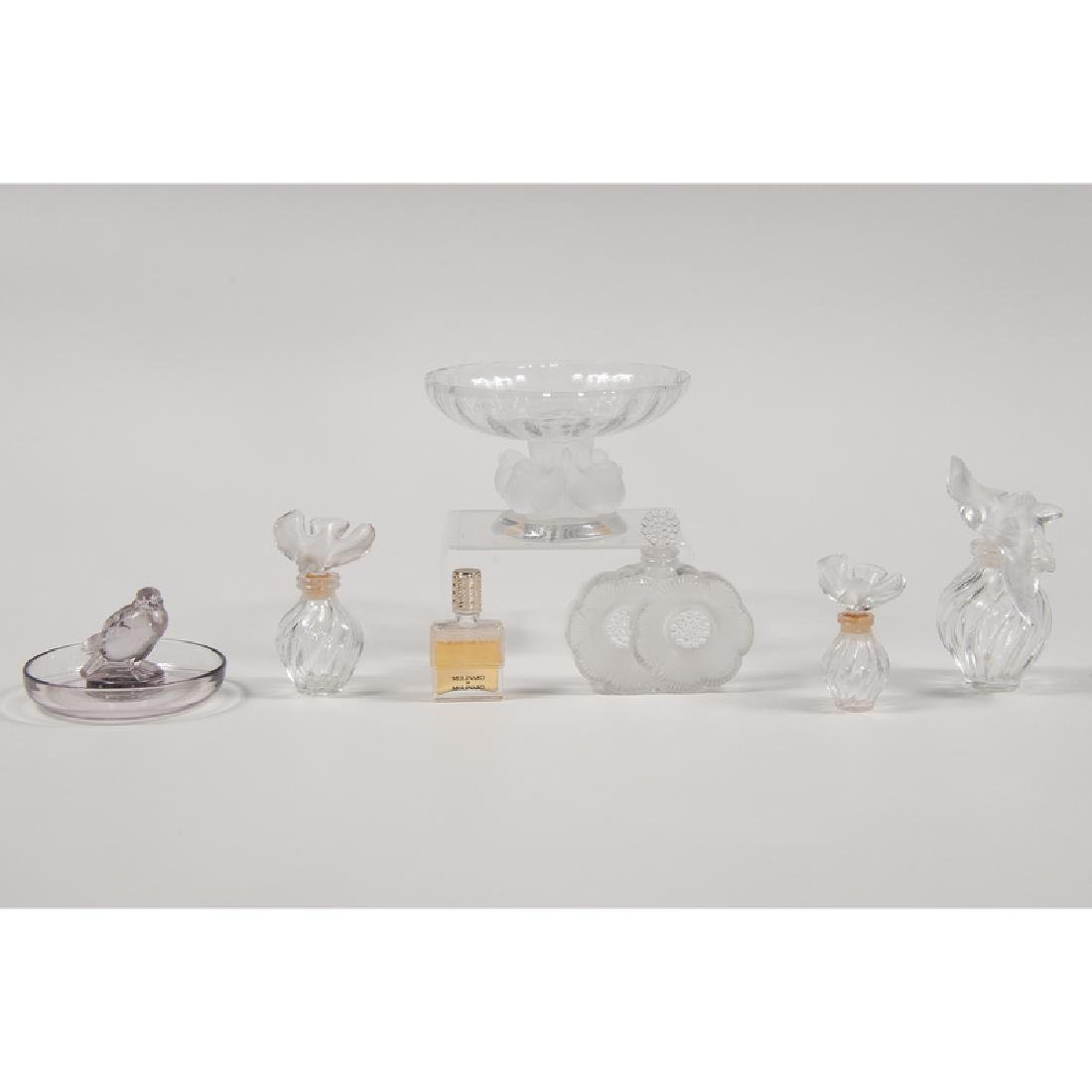 Lalique Perfume Bottles and Dishes