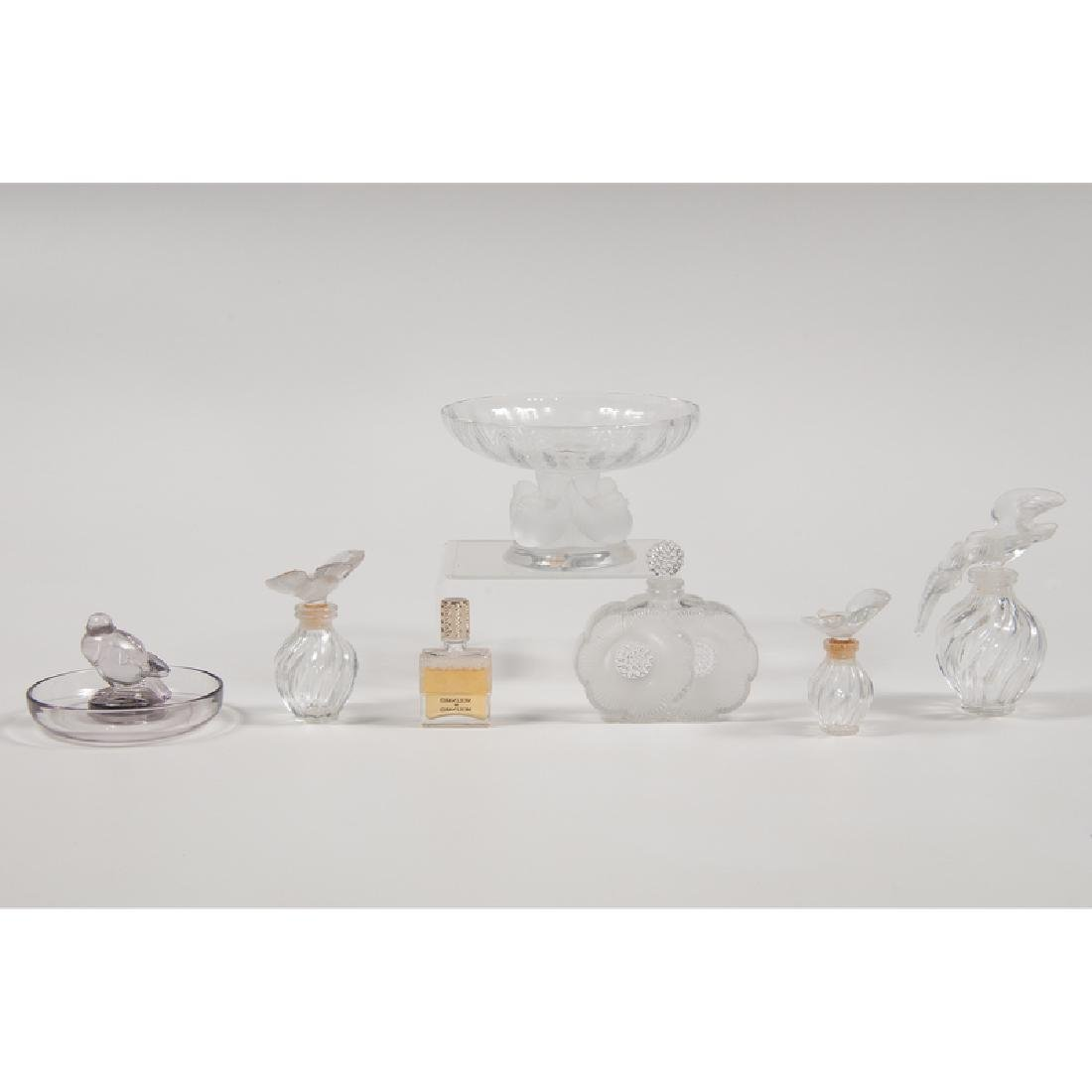 Lalique Perfume Bottles and Dishes - 2