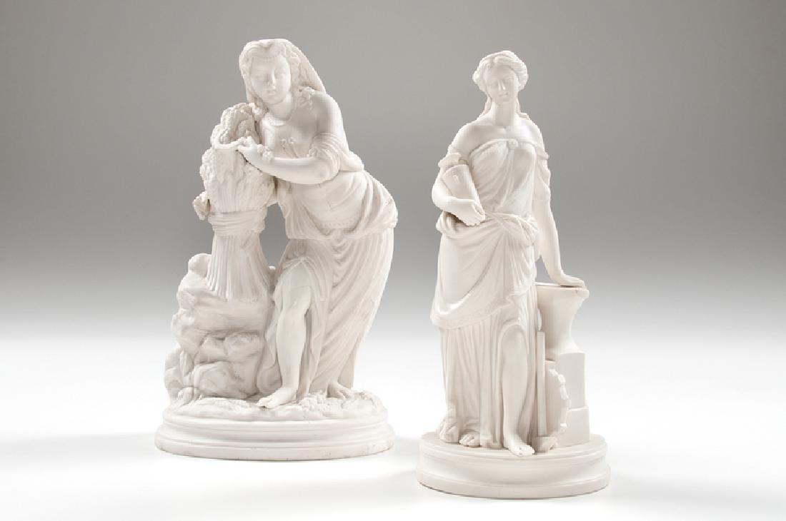 Parian Classical Figures