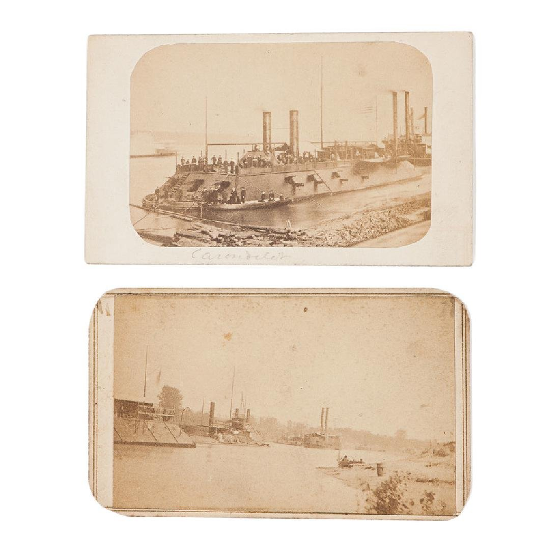 Two Brown Water Navy CDVs