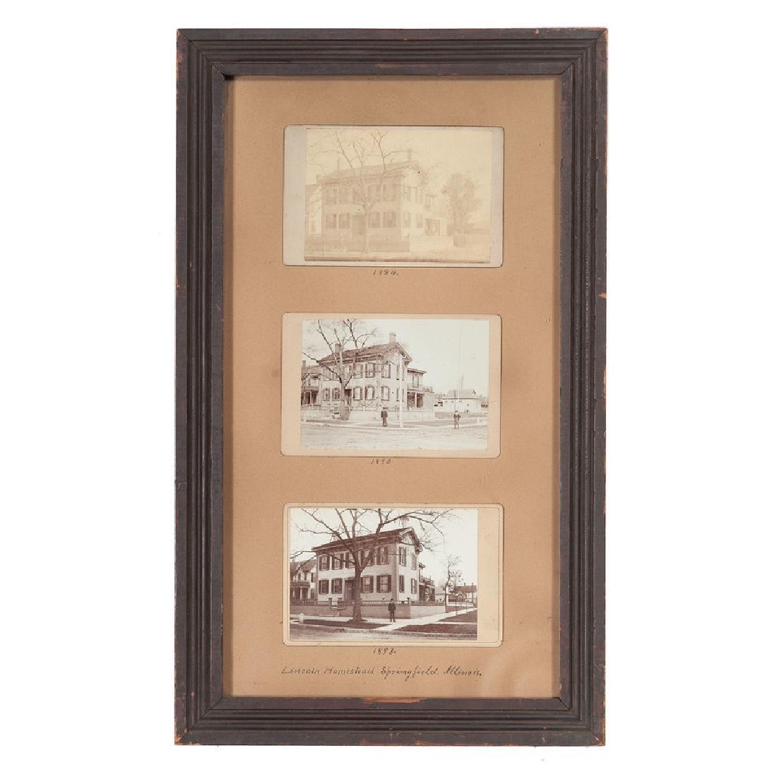 Lincoln Homestead Springfield, Illinois, Trio of