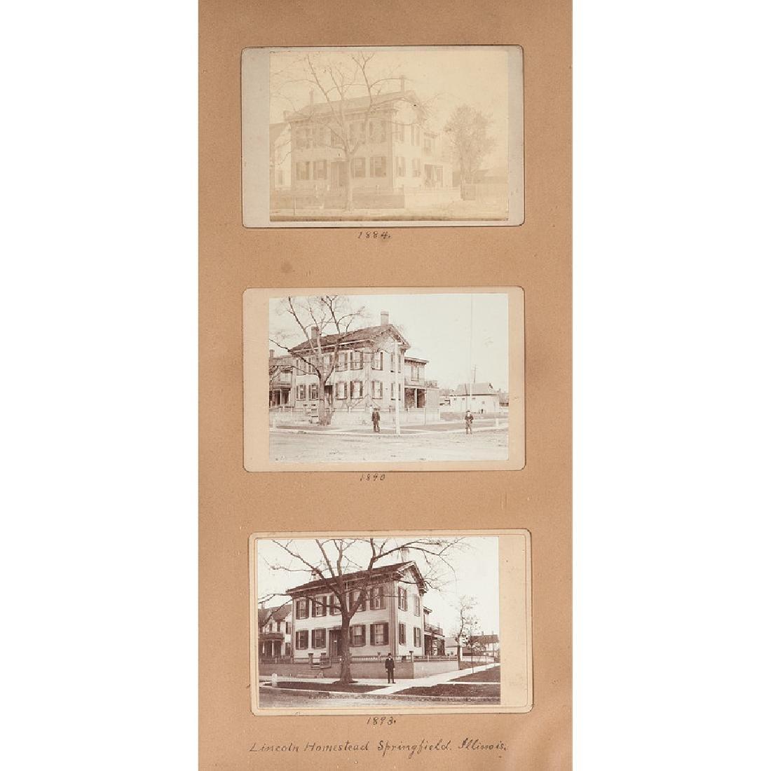 Lincoln Homestead Springfield, Illinois, Trio of - 2