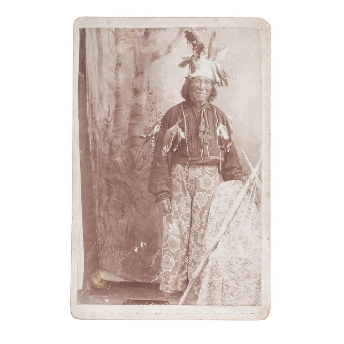 Cabinet Card Supposedly Featuring the Father of Modoc