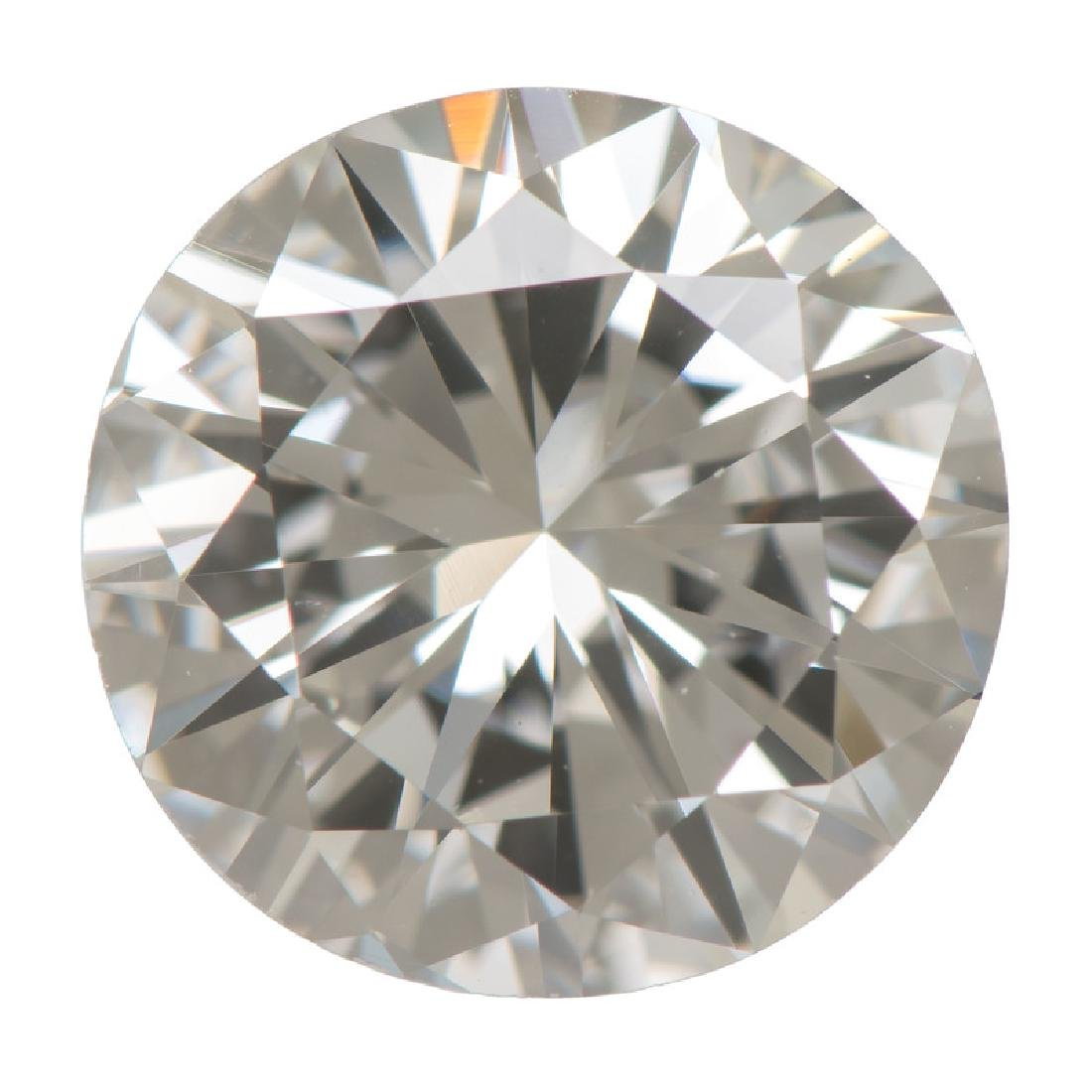 GIA Certified 1.53 Carat Round Brilliant Cut Diamond