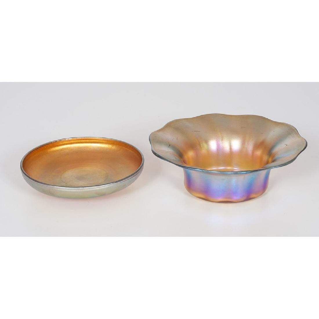Tiffany Favrile Dishes