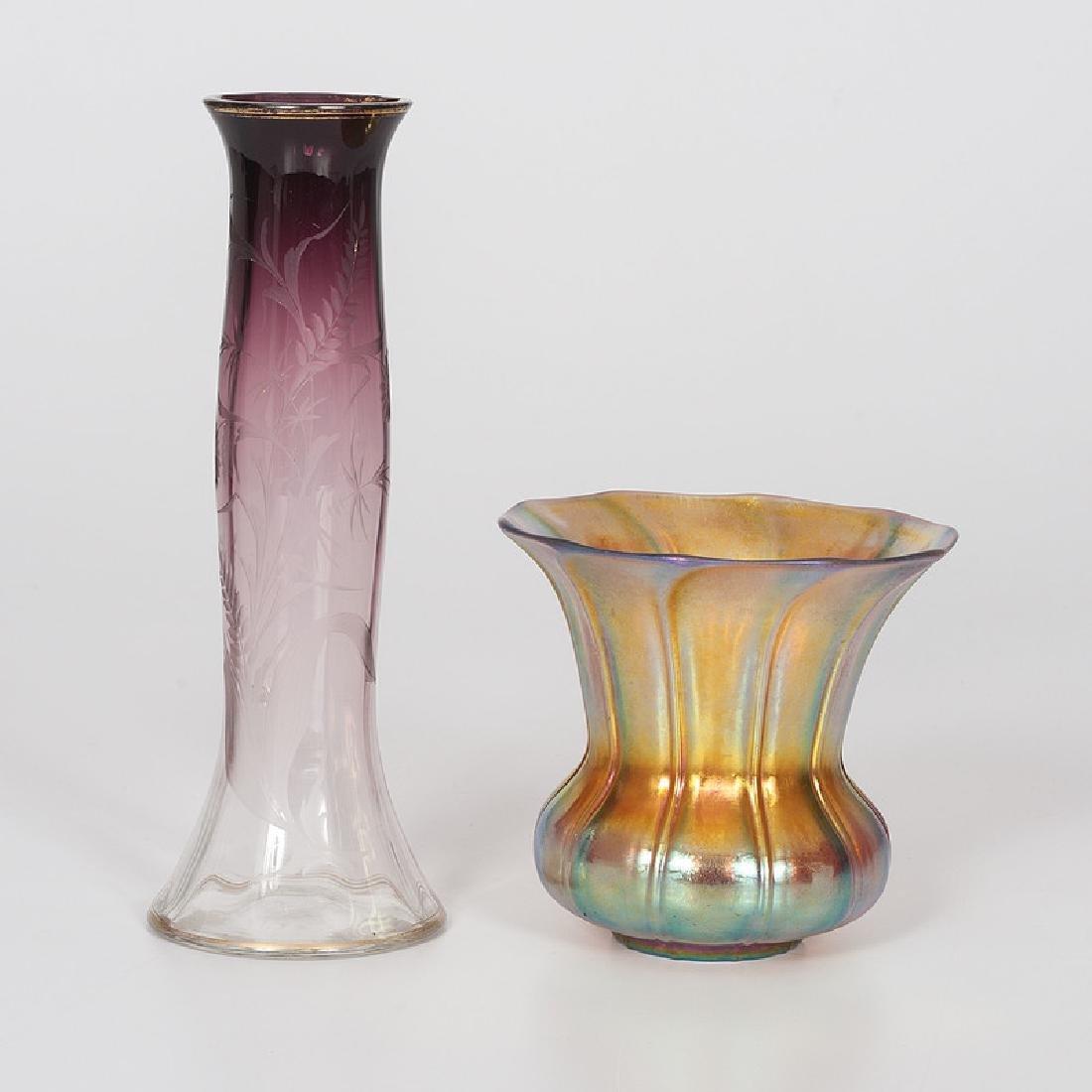 Moserand Steuben Art Glass