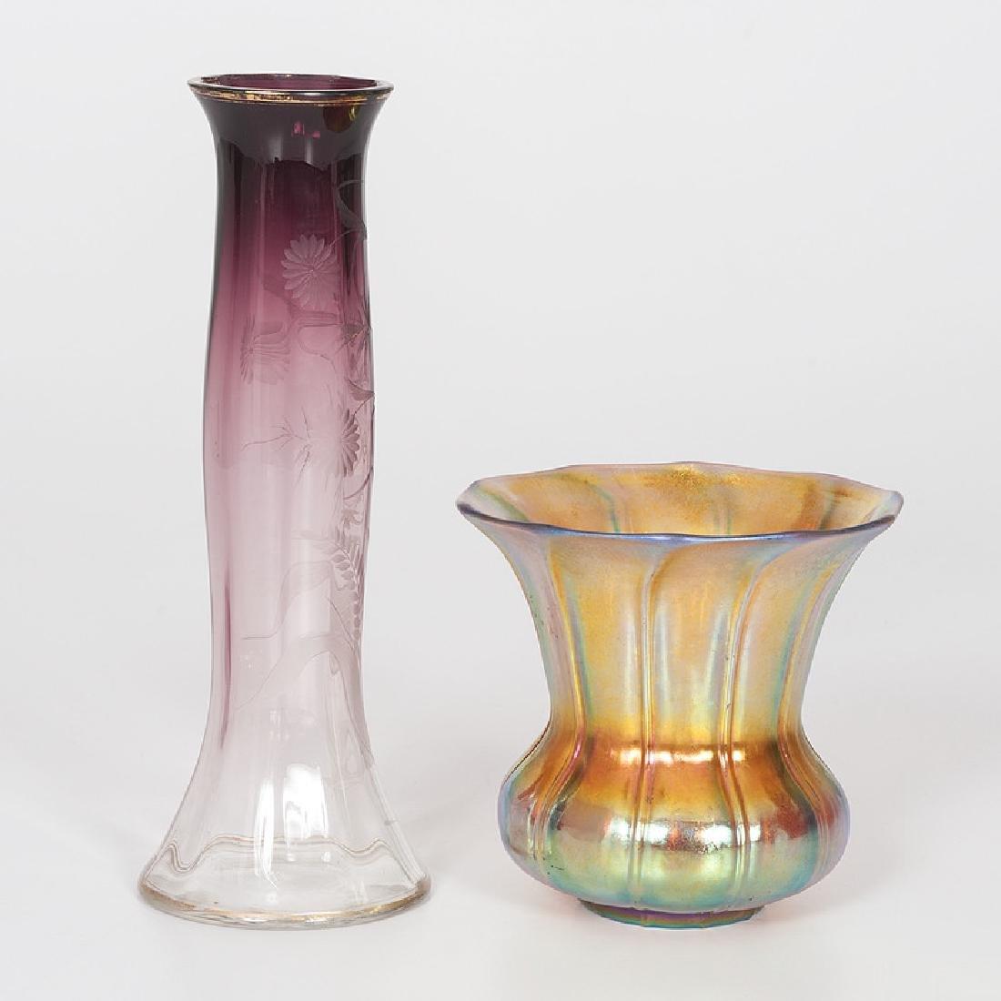 Moserand Steuben Art Glass - 2