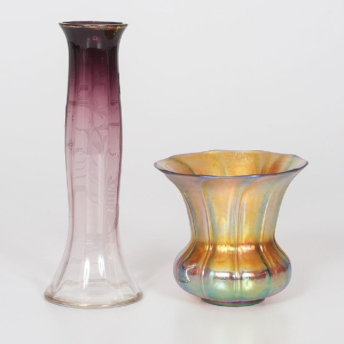 Moserand Steuben Art Glass - 3