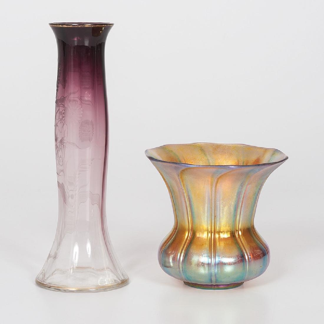Moserand Steuben Art Glass - 4