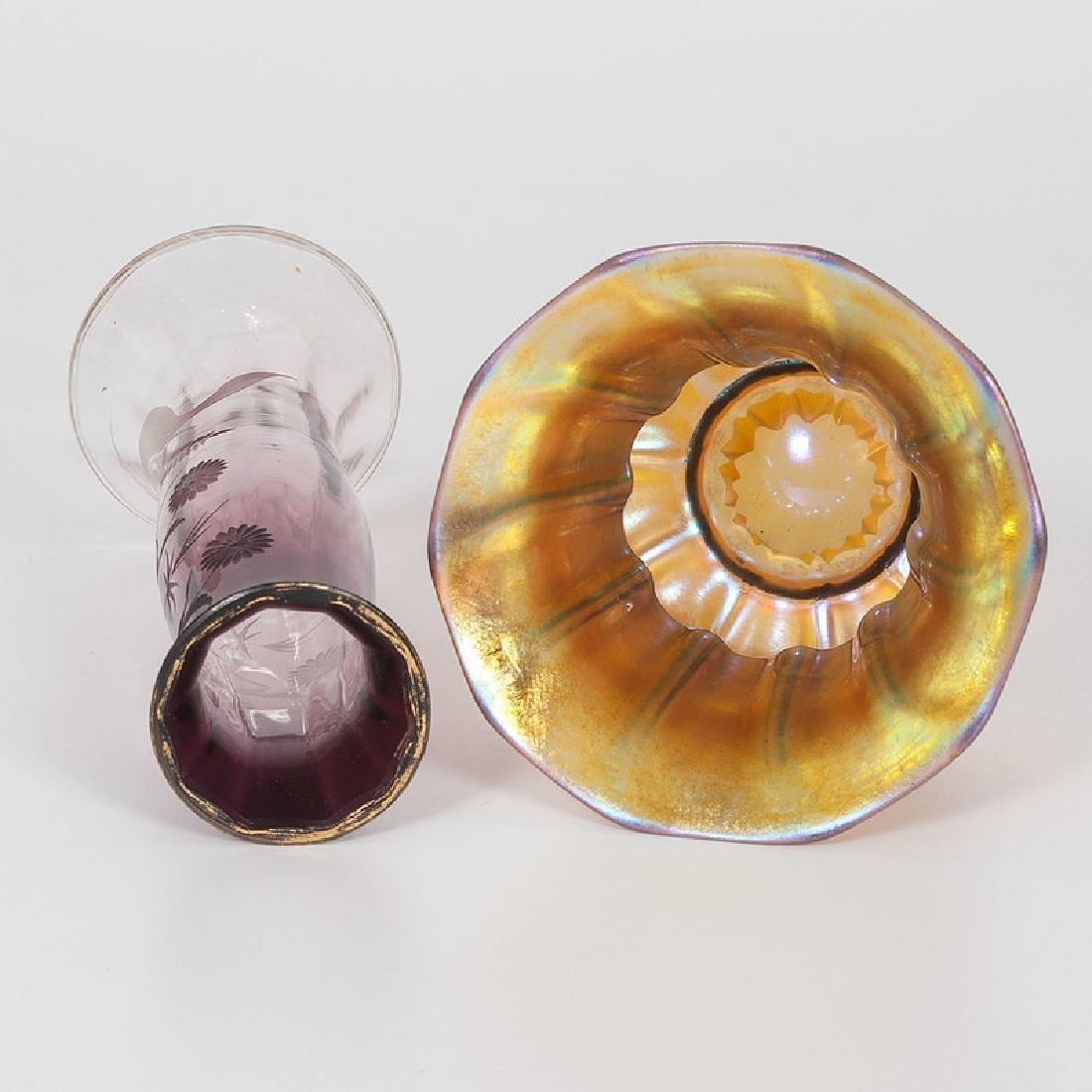 Moserand Steuben Art Glass - 5