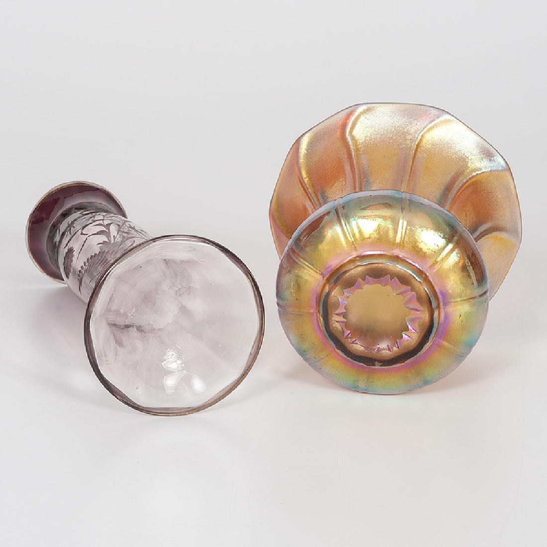 Moserand Steuben Art Glass - 6