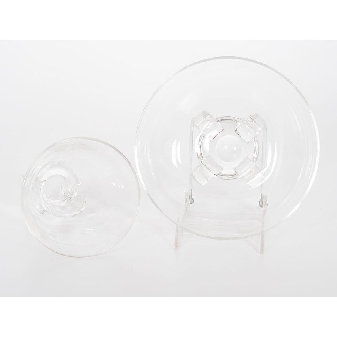 Steuben Crystal Vase and Bowl - 5