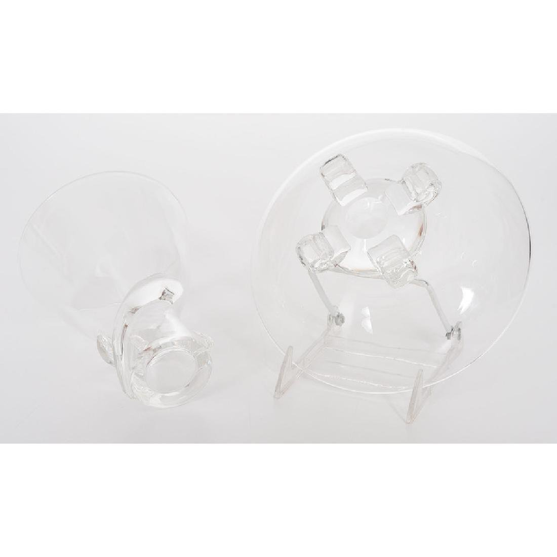 Steuben Crystal Vase and Bowl - 6