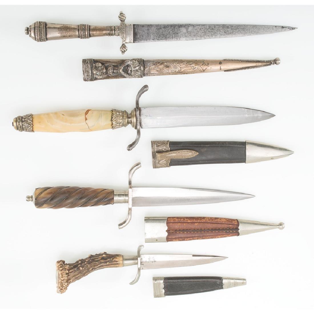 Lot of Three Daggers