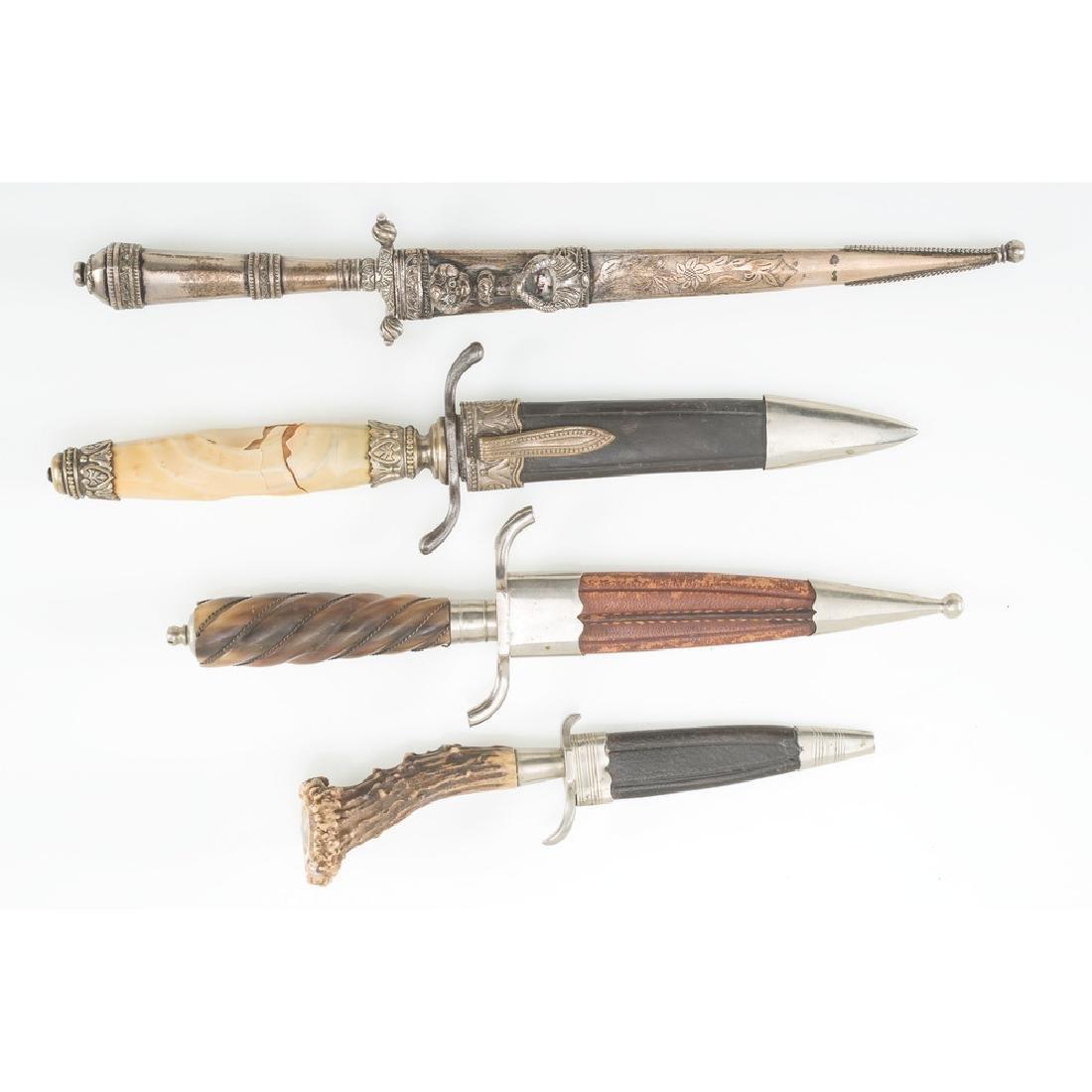 Lot of Three Daggers - 2