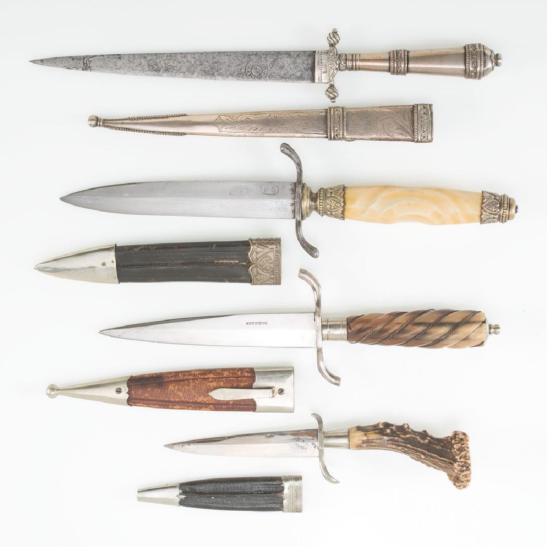 Lot of Three Daggers - 3