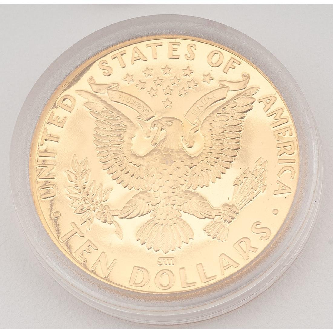 United States Los Angeles Olympiad Commemorative Gold - 2