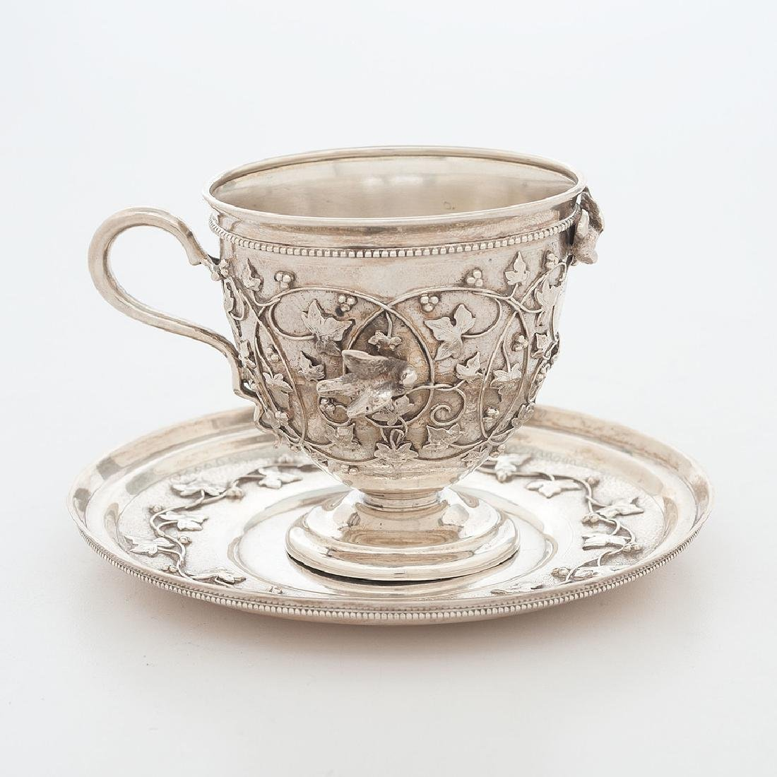Rare Tiffany & Co. Sterling Bird and Ivy Pattern Cup