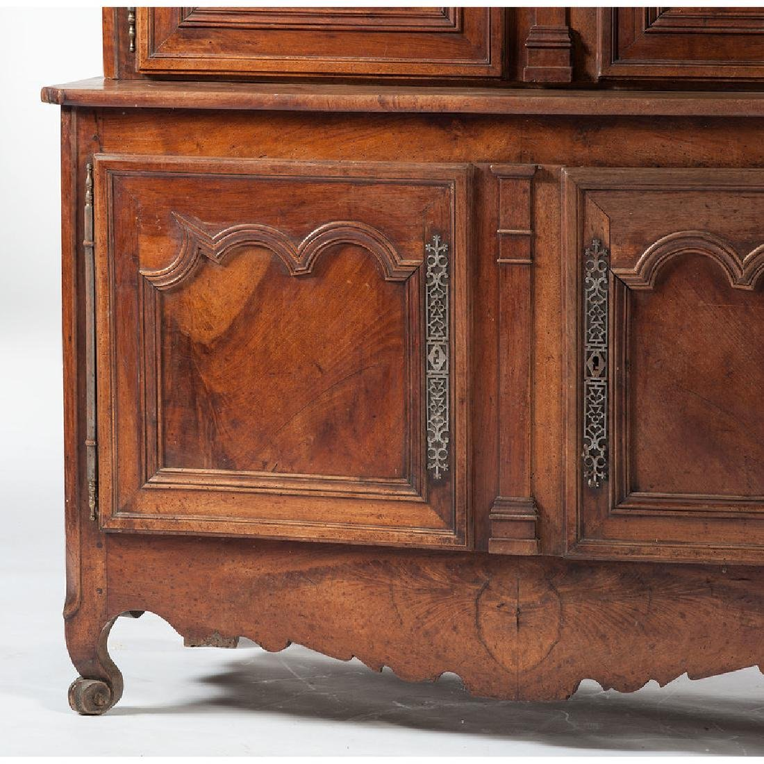 French Provincial Buffet-a-Deux Corps - 3
