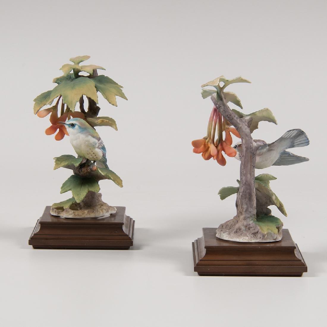 Royal Worcester  Dorothy Doughty Cerulean Warbler - 2
