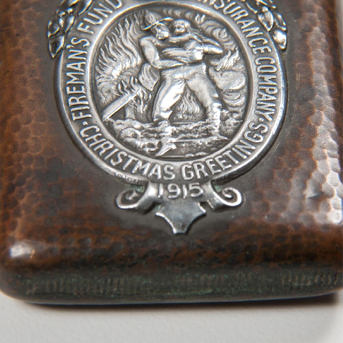 Shreve & Co.  Sterling and Bronze Fireman's Fund - 3