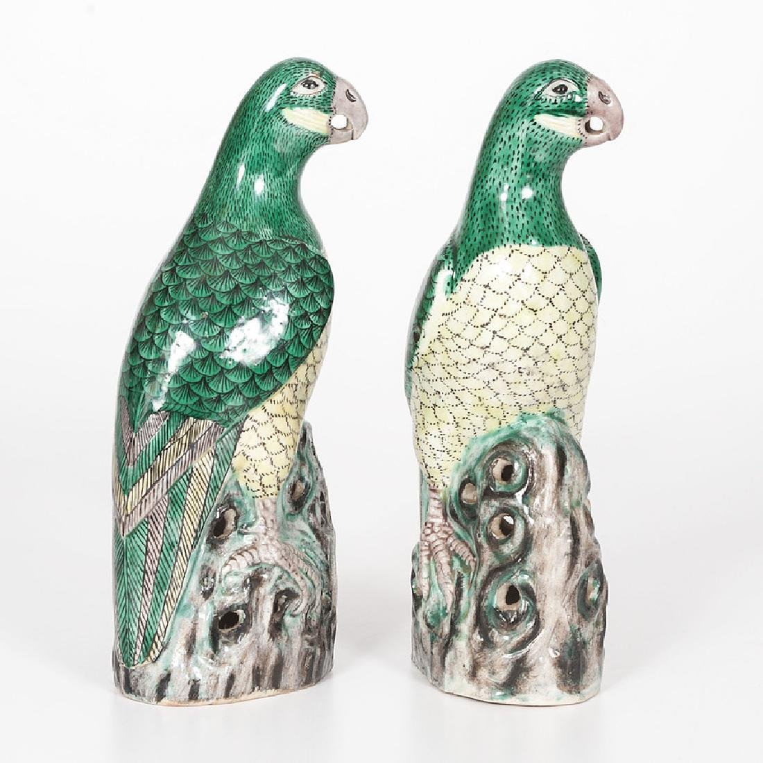 Chinese Kangxi-style Parrots - 2