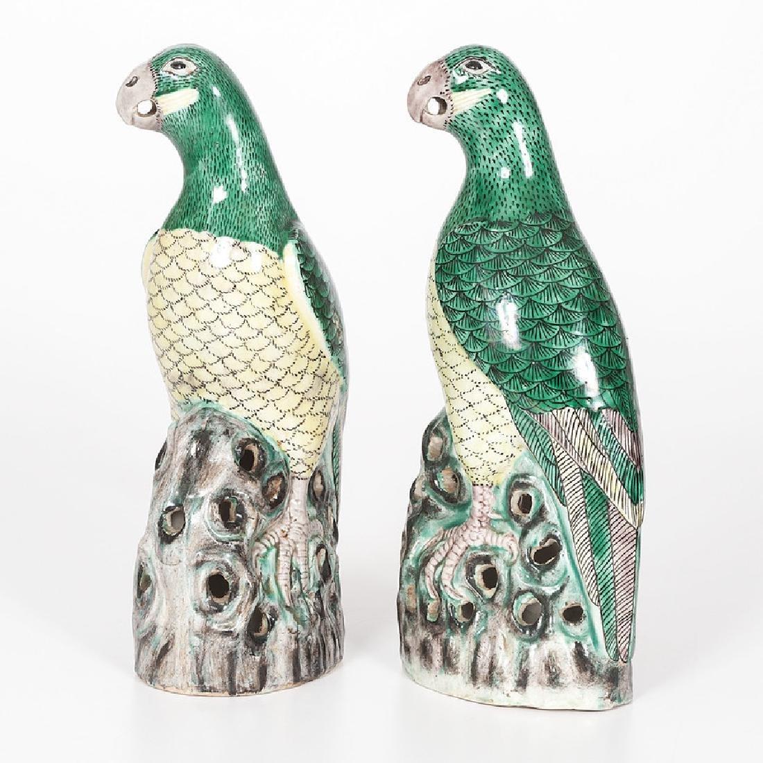 Chinese Kangxi-style Parrots - 4