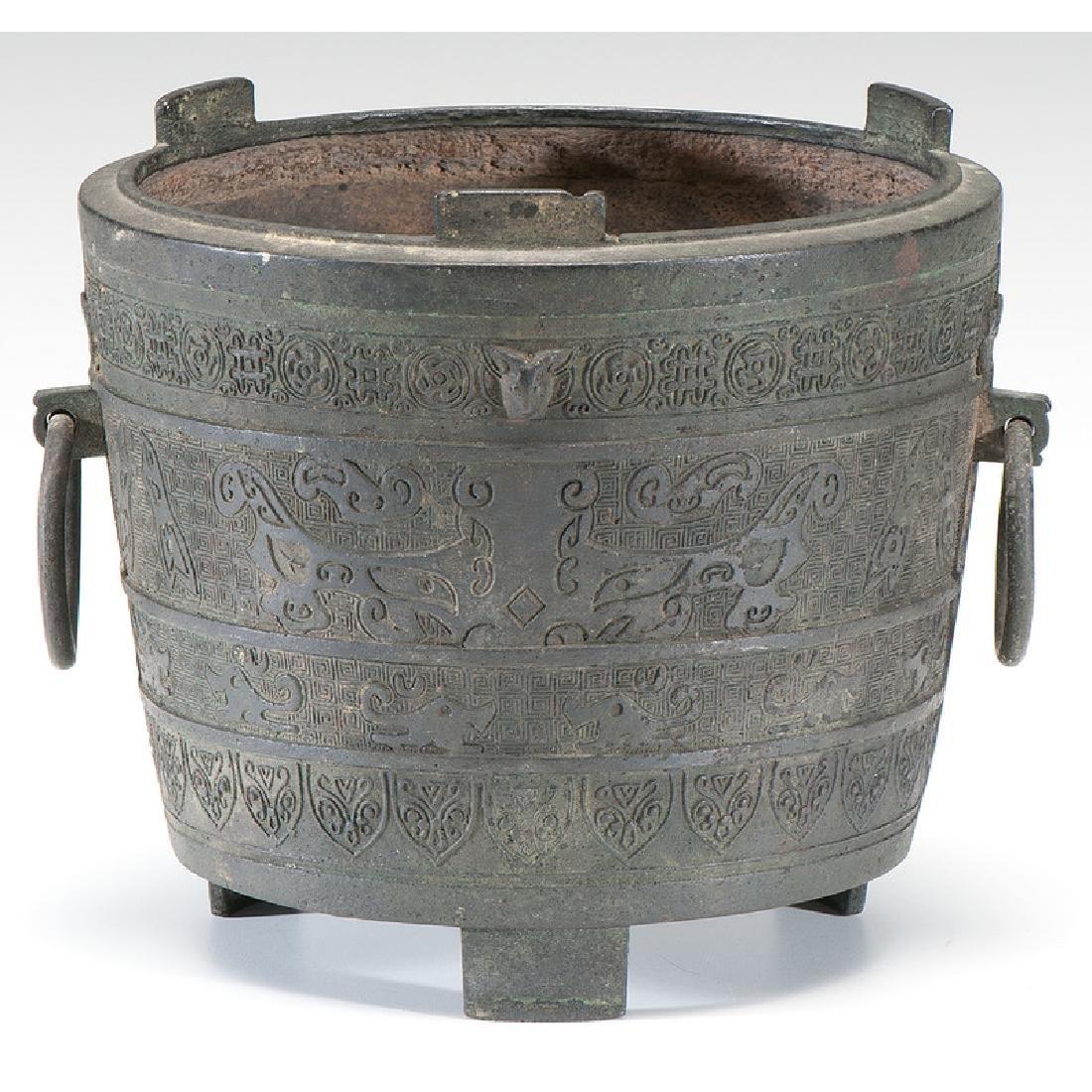 Chinese Bronze Vessel - 3
