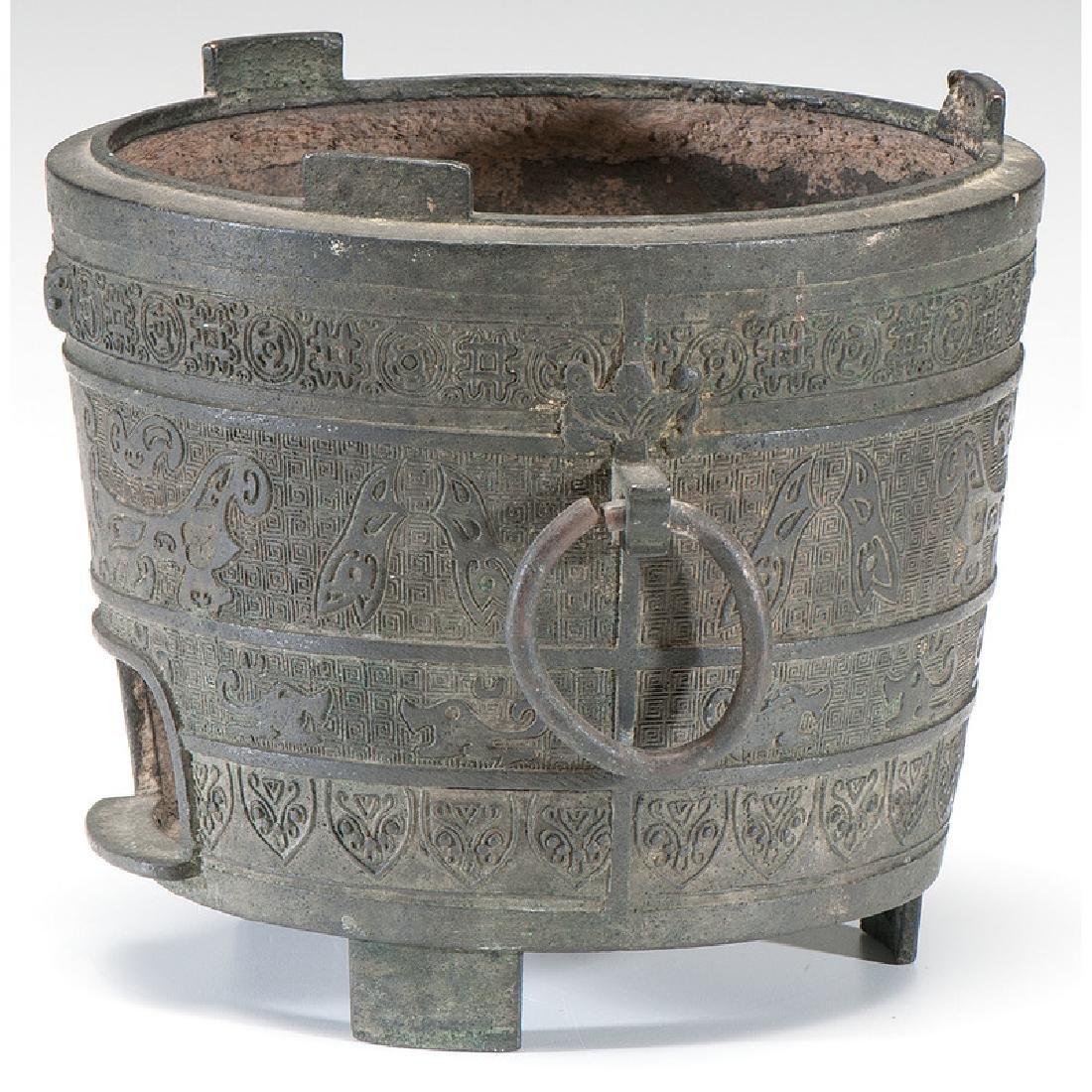 Chinese Bronze Vessel - 4