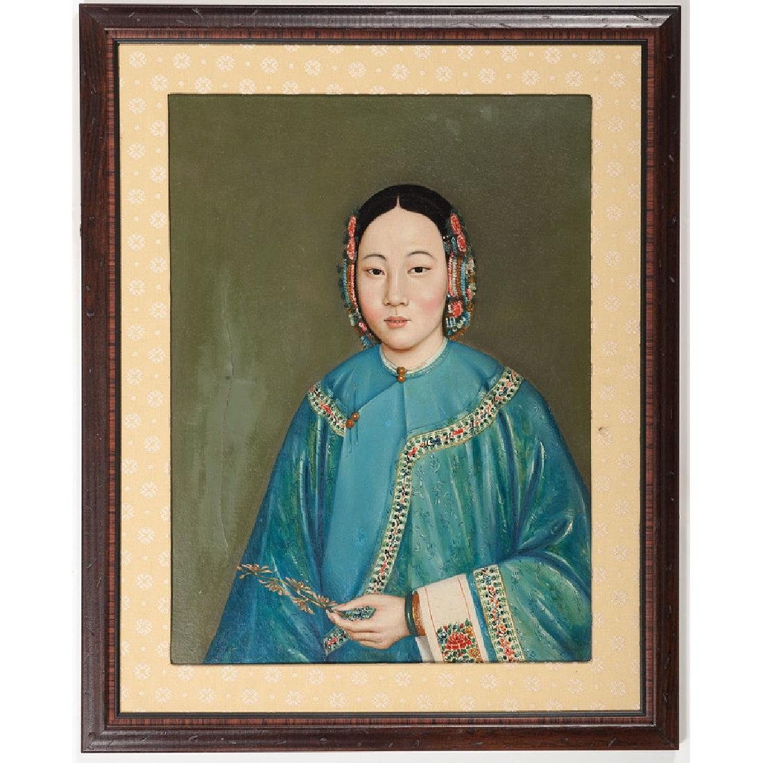 Late Qing Portrait of a Woman