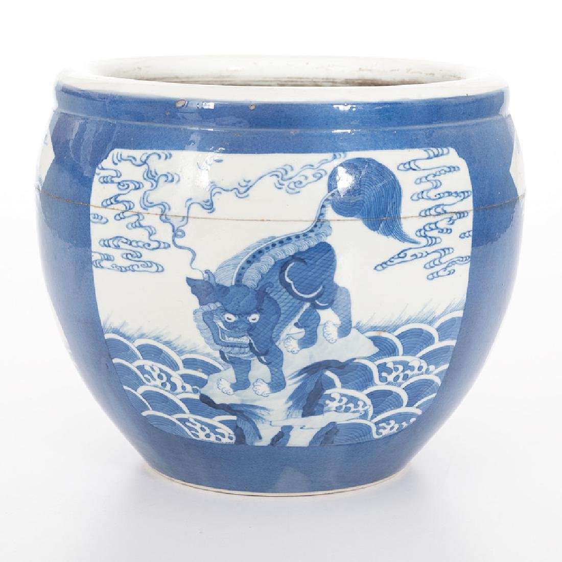 Chinese Porcelain Blue and White Jardiniere