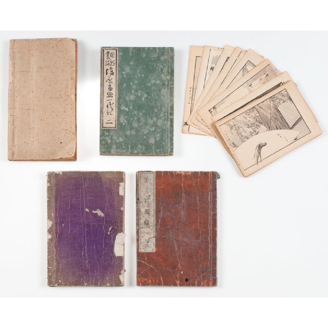 Assorted Japanese Woodblock Prints, Plus - 4