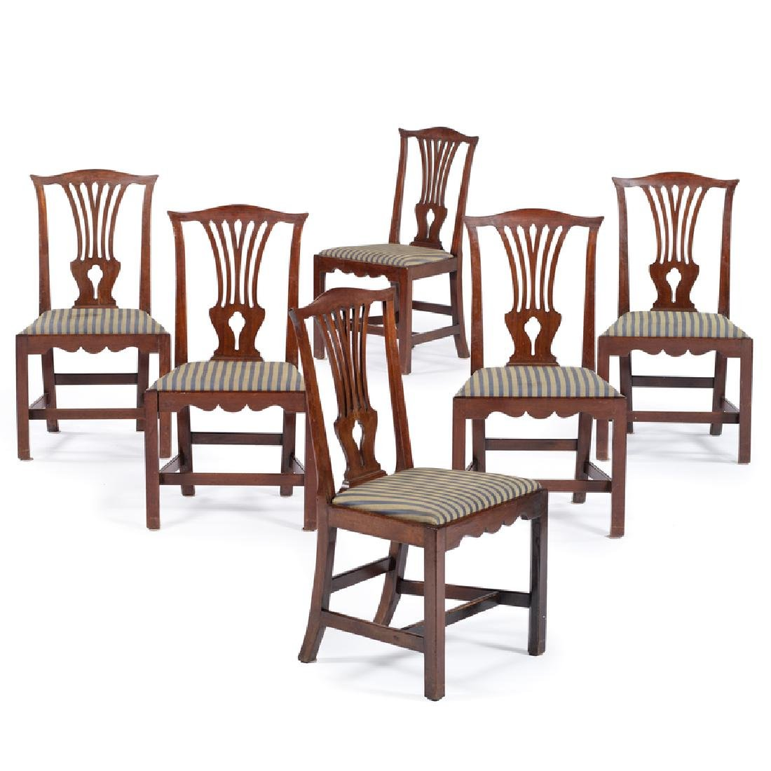 George III Chippendale Dining Chairs