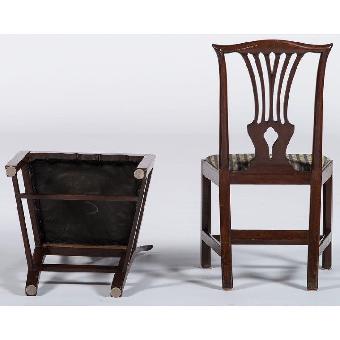 George III Chippendale Dining Chairs - 2