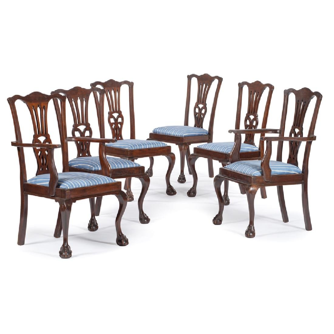 Chippendale-style Dining Chairs