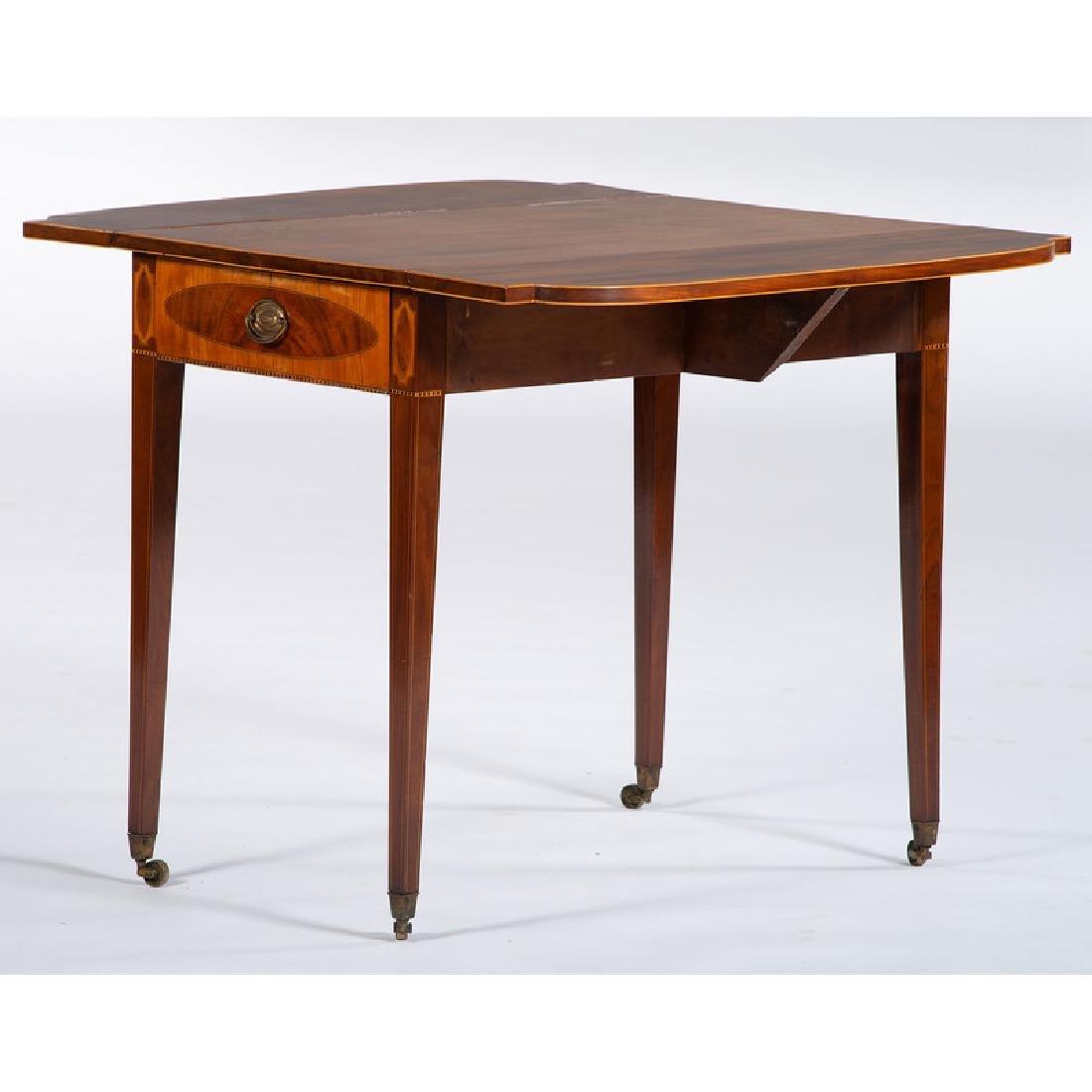 English Hepplewhite Pembroke Table - 2