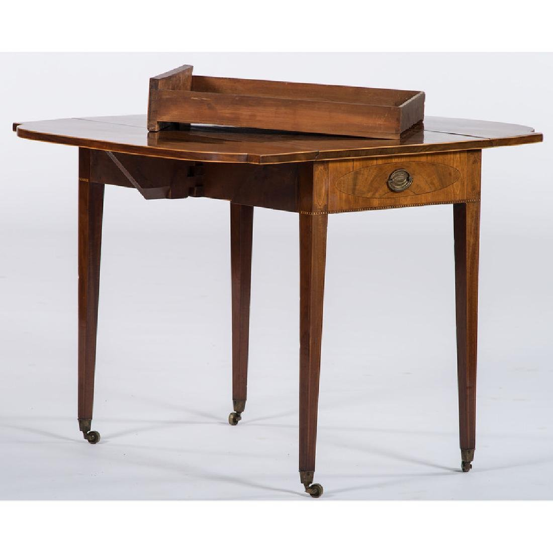 English Hepplewhite Pembroke Table - 3