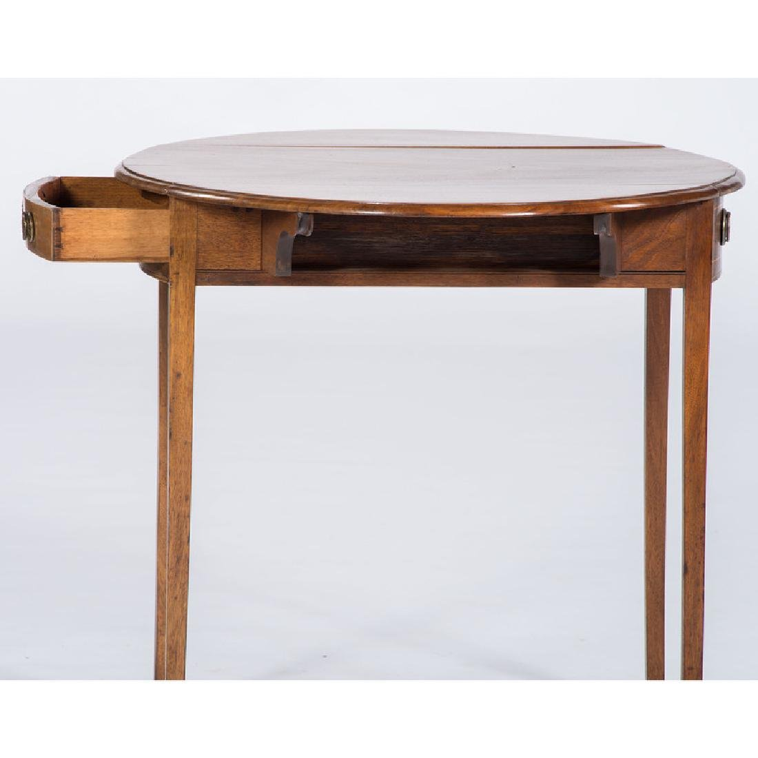 English Hepplewhite Pembroke Table - 3