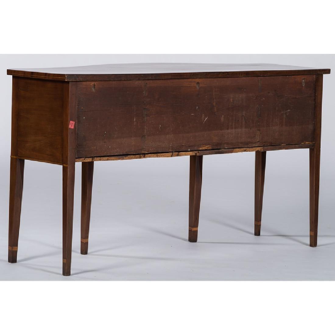 Hepplewhite Serpentine Sideboard - 3