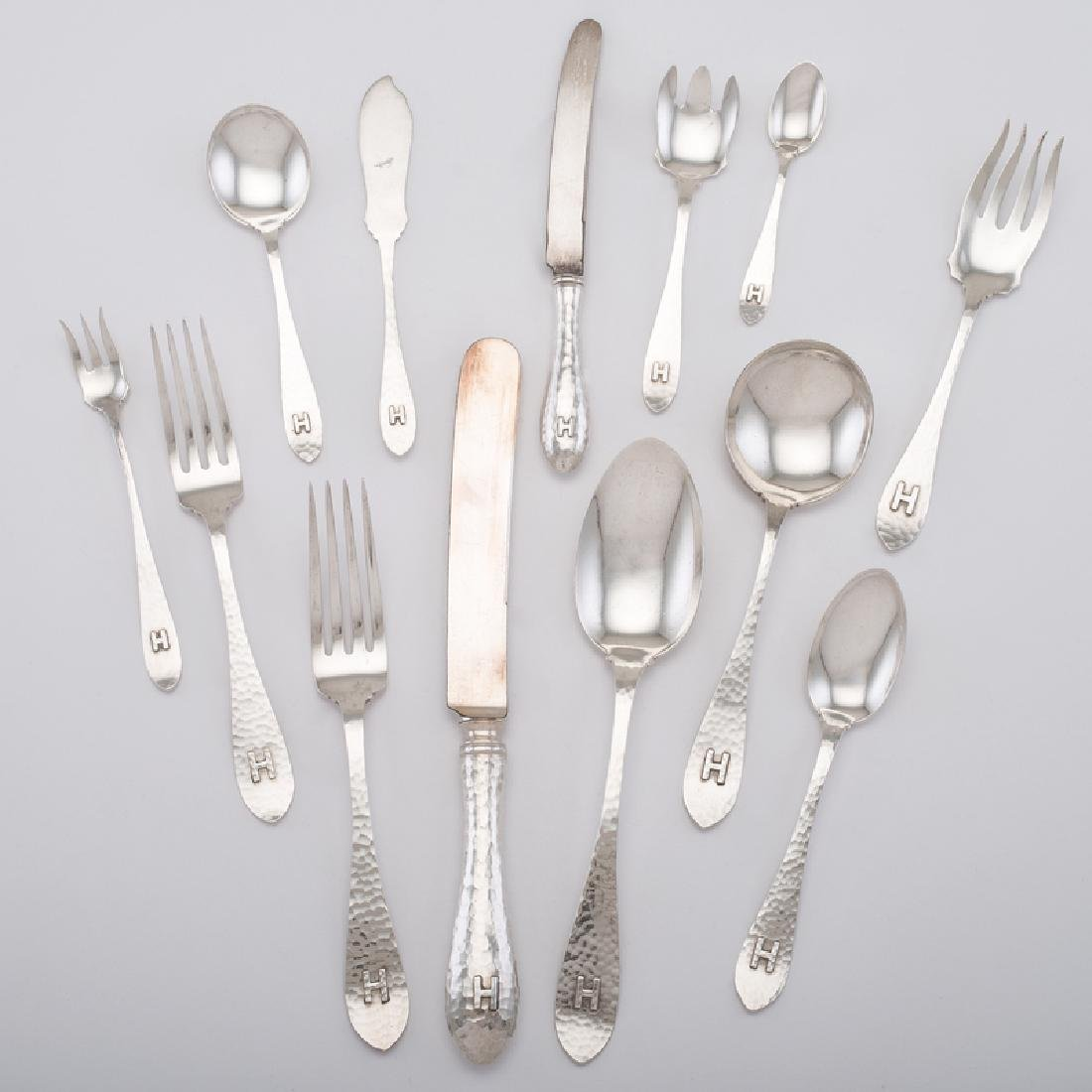 International Silver Sterling Flatware Service, Van