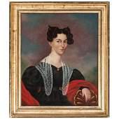 "American School, Portrait of Anna ""Eliza"" Elizabeth"