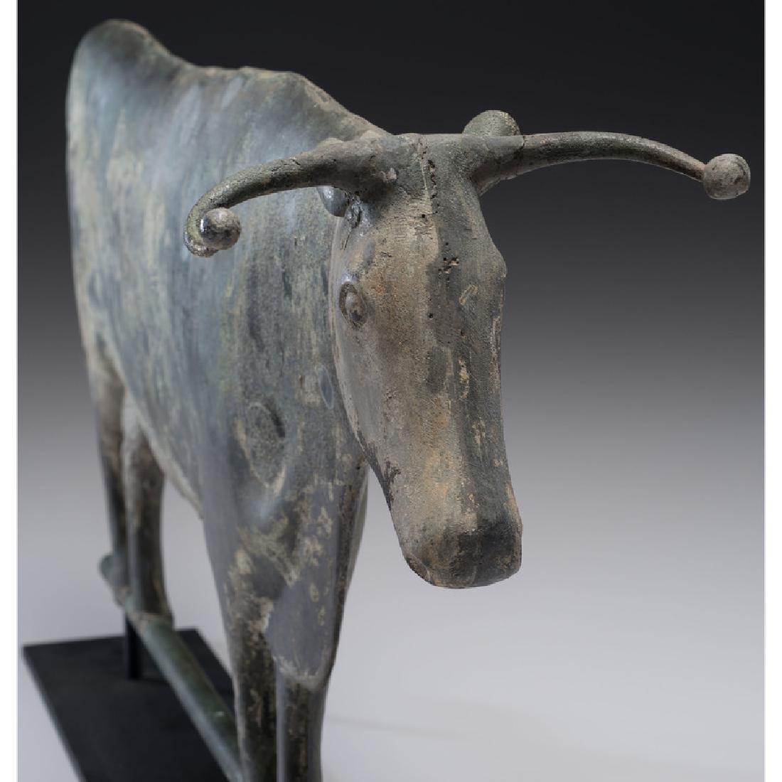 Copper Steer Weathervane - 3