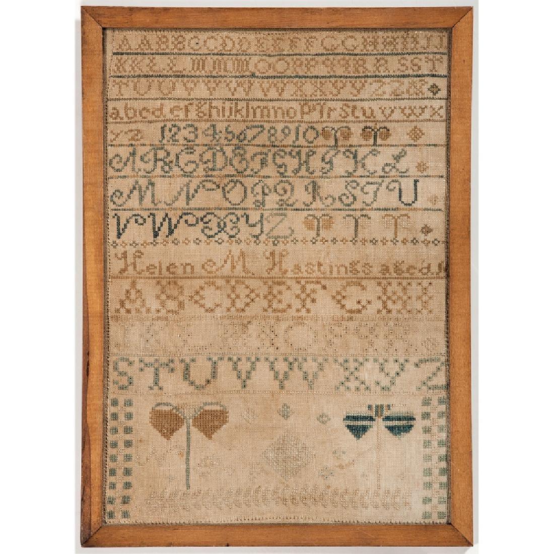 Alphabet Sampler - 2