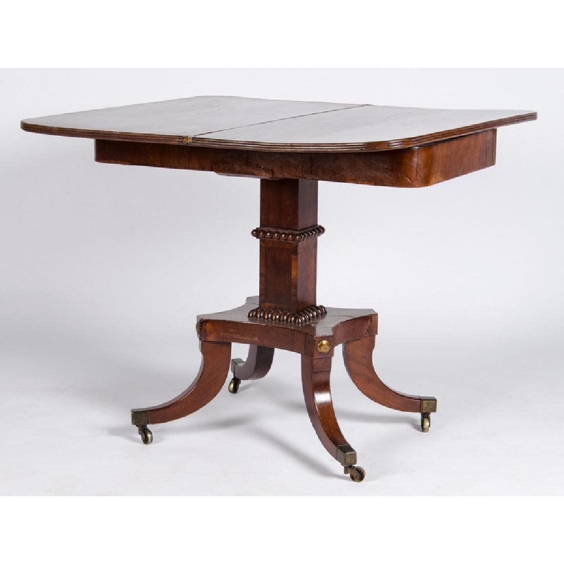 Classical Mahogany Game Table