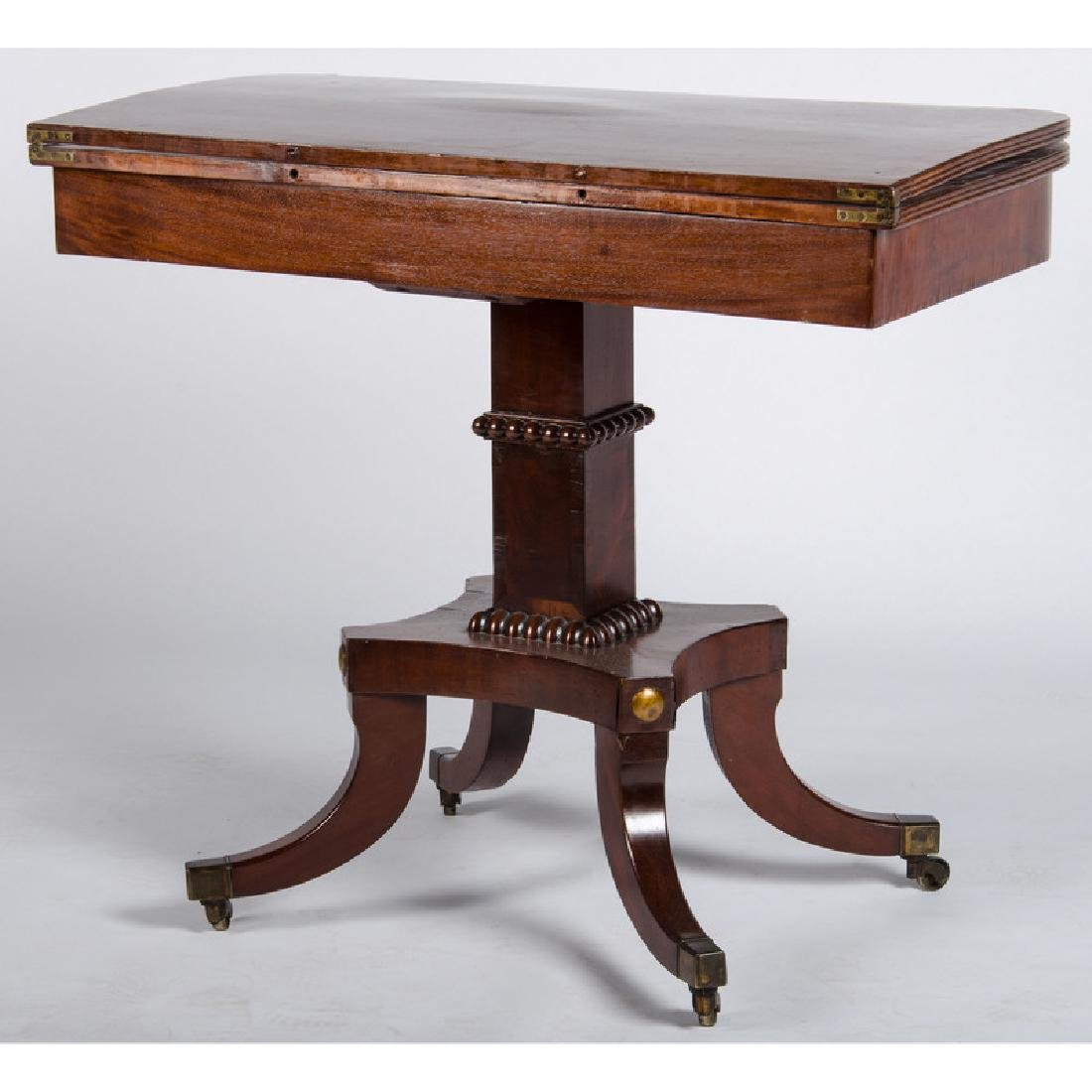 Classical Mahogany Game Table - 3