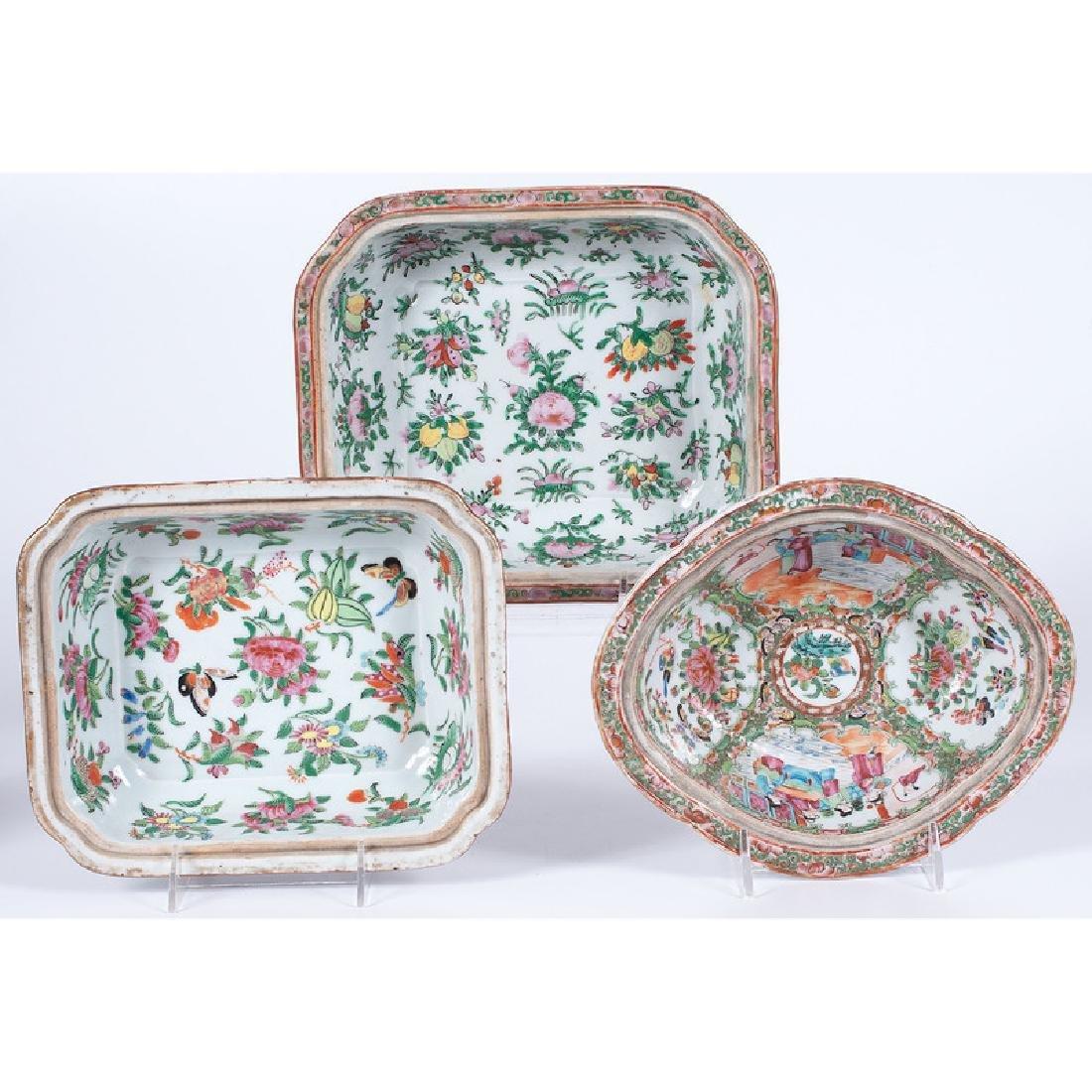 Rose Medallion China Wares - 2