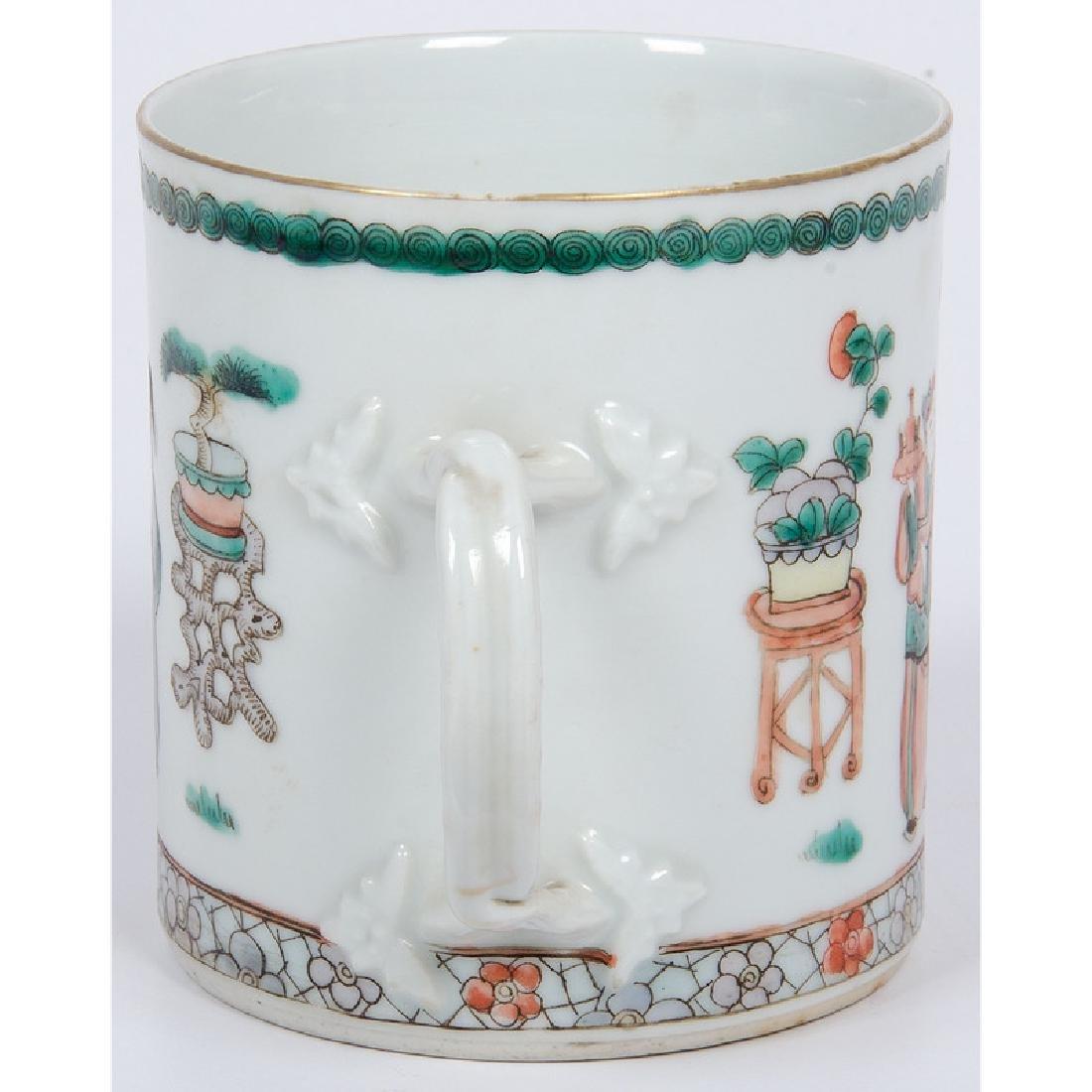 Chinese Export Mug and Plate - 4