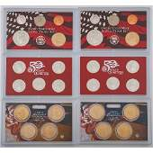 United States Mint Silver Proof Sets 2008-2009-2010,