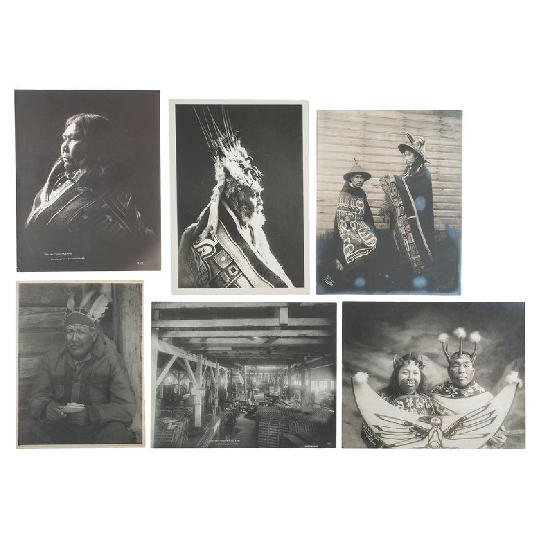 Silver Gelatin Photographs of Tlingit