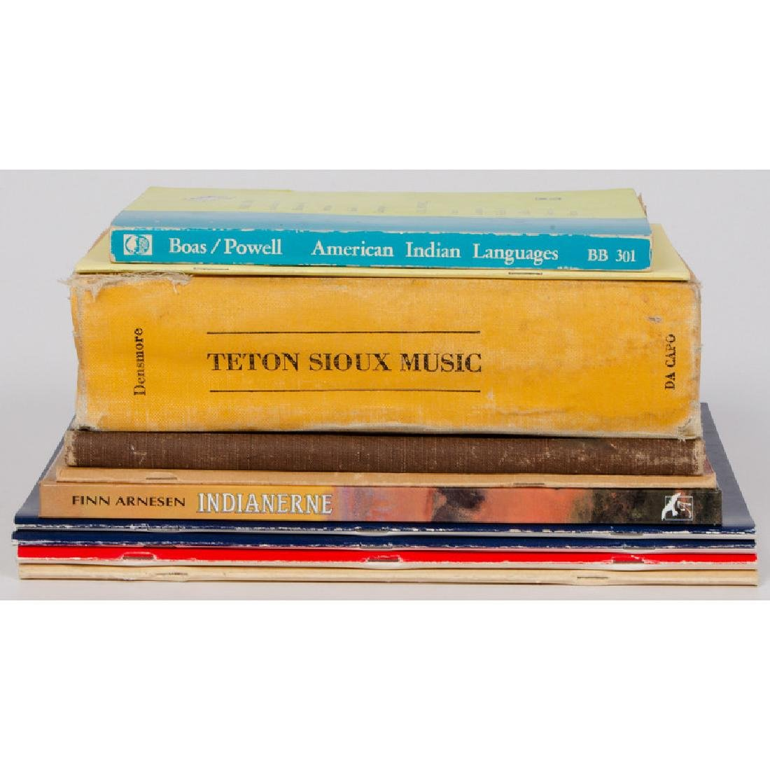 [Education] Books on American Indian Music and Language